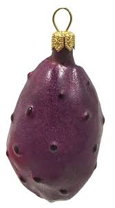 prickly pear cactus fruit glass tree