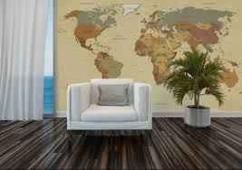 map mural mural vintage map walldesign56 wall decals murals posters