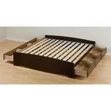 King Size Platform Bed Diy by Bed Frames King Size Platform Bed With Storage And Headboard Diy