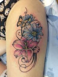 butterfly on thigh butterfly thigh tattoos
