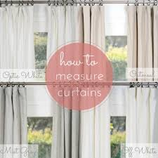 Window Length Curtains How To Measure For Curtains U0026 Draperies Rod Pocket Pinch Pleat