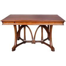 Art Nouveau Dining Table Art Nouveau Furniture Walnut Dining - Art dining room furniture