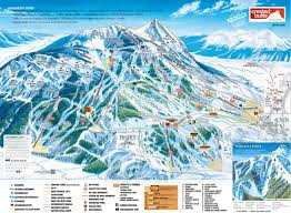Rocky Mountain Map Crested Butte Mountain Resort Trail Map Skicentral Com