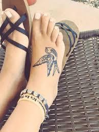 50 elegant foot tattoo designs for women tattoo bird and