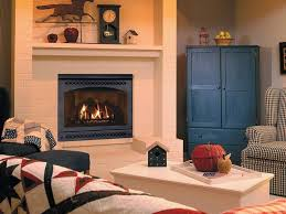 ventless gas fireplace logs interior design