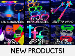 glow party supplies glowsource glow in the party supplies led novelty