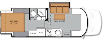 Motorhome Floor Plans Class C Motorhome Floor Plans Mercedes Benz Motorhomes 24sr