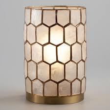 Capiz Vase Decorative Lighting Novelty Lighting U0026 Decorative String Lights
