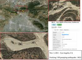 Earthquake Los Angeles Map by 11 05 2015 U2014 Los Angeles Struck By Fracking Oil Pumping