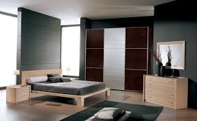 wonderful red black wood glass modern design small bedrooms