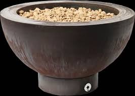 Firepit Bowls Ore Artistic Modern Steel Outdoor Pit Bowl