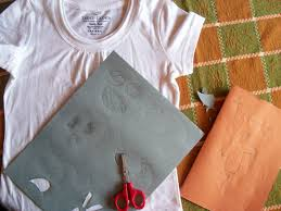 cypress space halloween handwork a ghost tee shirt