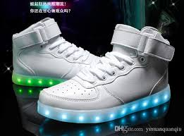 rainbow light up shoes 2016 of the rainbow led shoes men skateboard remote ipl usb charging