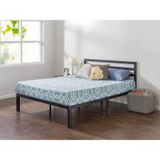 Metal Platform Bed Frame Zinus Lock 14 In Metal Platform Bed Frame With