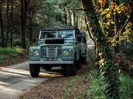 land rover vintage defender 1982 land rover series iii with camping trailer duane fernandez