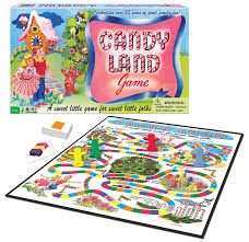 amazon com candy land 65th anniversary game toys u0026 games