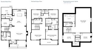 tremolo 2610 sq ft 3 bedroom 2 5 bathroom protech home design