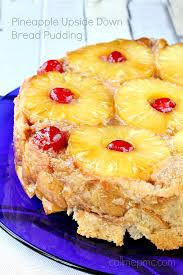 pineapple upside down bread pudding pineapple upside down bread