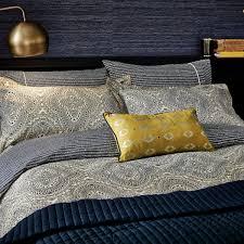 modern tribal print bedding ziba bed linen at bedeck 1951