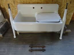 Cast Iron Kitchen Sinks Kohler K Bellegrove Kitchen Sinks - Kitchen sink on legs