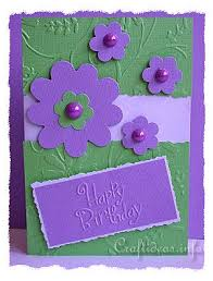 craft idea birthday card for all seasons cheery birthday card