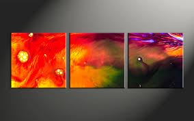 3 piece red abstract oil paintings canvas photography home decor 3 piece canvas wall art abstract large pictures oil paintings photo