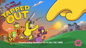 in update new decorations and more the simpsons tapped out