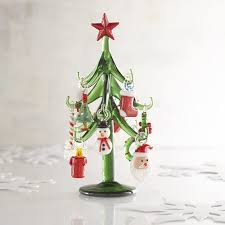 collectible glass tree figurine pier 1 imports