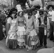 vintage mardi gras 1954 new orleans mardi gras parade