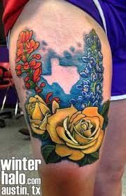 70 sensational state of texas tattoos flower tattoos yellow