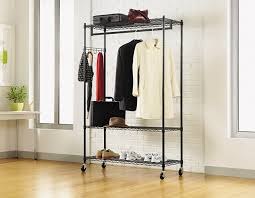 amazon com alera wire shelving garment rack black kitchen u0026 dining