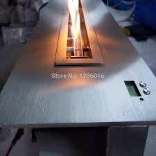 remote controlled automatic insert ethanol fireplace burner af180