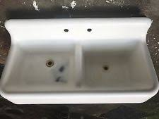 Antique Farmhouse Sinks EBay - Farmhouse kitchen sinks with drainboard