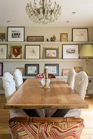 dining room shelves with gallery wall dining room rustic and