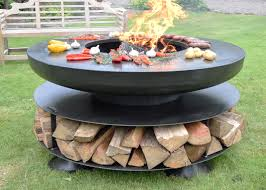 Bbq Firepit Ring Of Logs 120 Including A 6mm Bbq Ring
