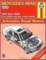 mercedes repair manuals mercedes 190 series 84 88 haynes repair manuals haynes