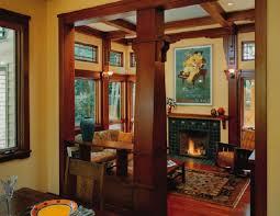 craftsman home interior prairie style interiors ideas the