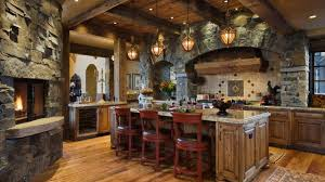 Stone Kitchen Interior Decoration Ideas Small Design Ideas 2017