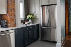 slate blue painted kitchen cabinets kitchen trend navy blue cabinets mcgillivray