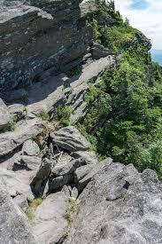 narrow picture ledge narrow ledge on the grandfather trail