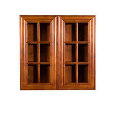 oak kitchen wall cabinet with glass doors glass door kitchen cabinets kitchen the home depot