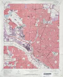 Dallas County Map Texas Topographic Maps Perry Castañeda Map Collection Ut
