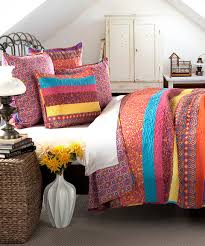 another great find on zulily soho fuschia quilt set by lush