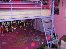 Purple Bunk Beds Funky Purple Metal Framed Bunk Beds Delivery Supermarket