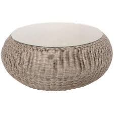 white wicker side table creative of round wicker side table large round wicker coffee table