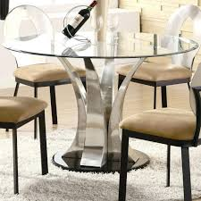 modern pedestal dining table base contemporary stainless steel