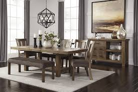 ashley dining room sets dining room sets with bench kitchen dinette near me discontinued