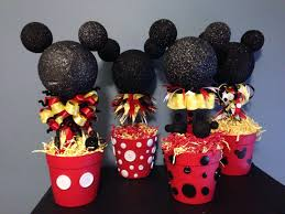 mickey mouse centerpieces mickey party pinterest mickey