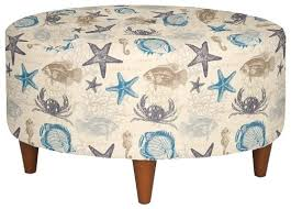 Coastal Fabrics For Upholstery Upholstered Beach Fabric Accent Chairs And Ottomans By La Z Boy