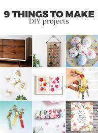 9 diy things to make